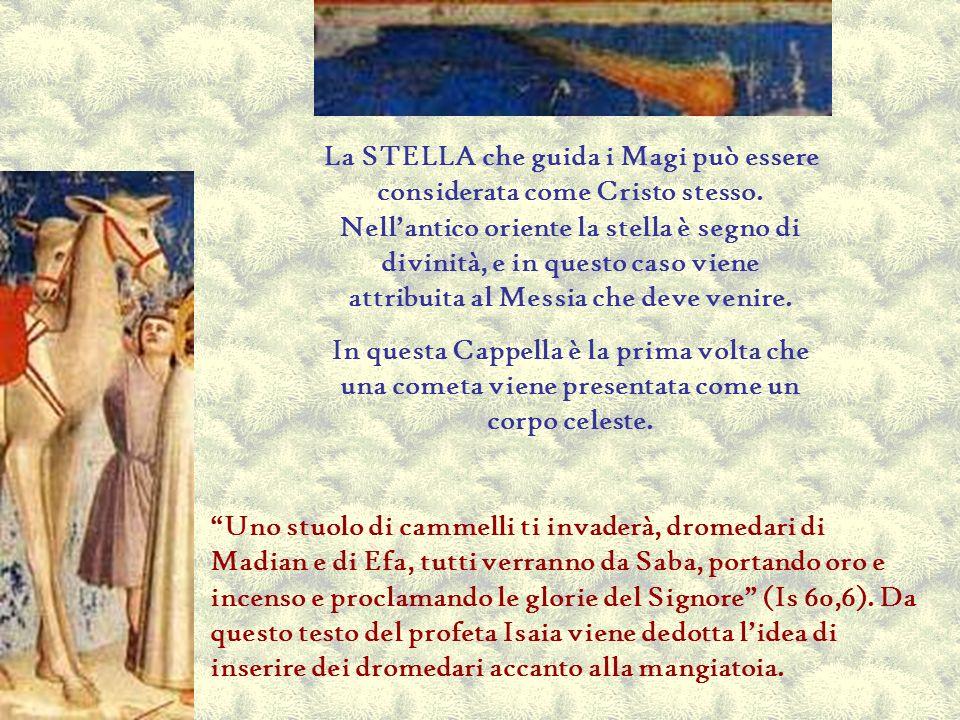 La STELLA che guida i Magi può essere considerata come Cristo stesso. Nellantico oriente la stella è segno di divinità, e in questo caso viene attribu