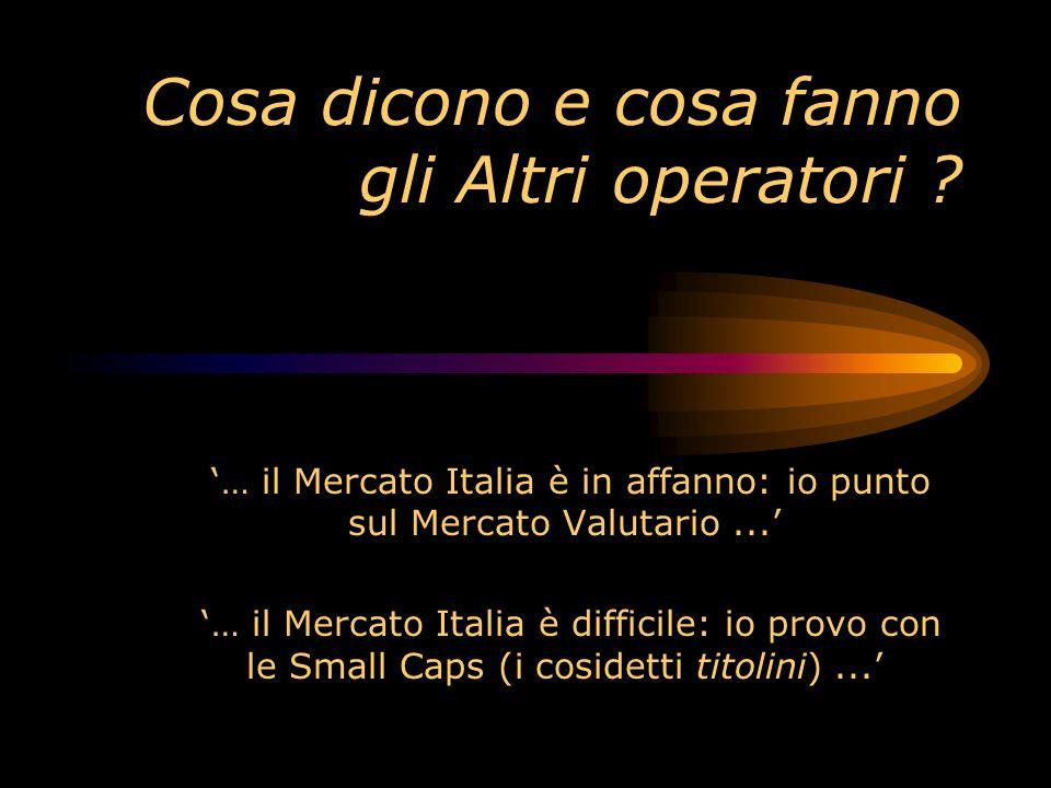 CHE COSA HANNO DETTO: Trading Library Education Milano 6 settembre Hilton Hotel CHE COSA HANNO DETTO: Michele Maggi (Trading Library Formazione) Mauri