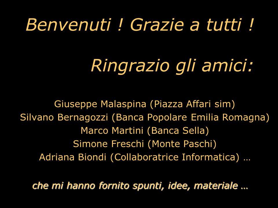 Guida Pratica al Trading con le Opzioni Francesco Caranti & Trading Library Srl Jolly Hotel de la Gare - Bologna 27 settembre