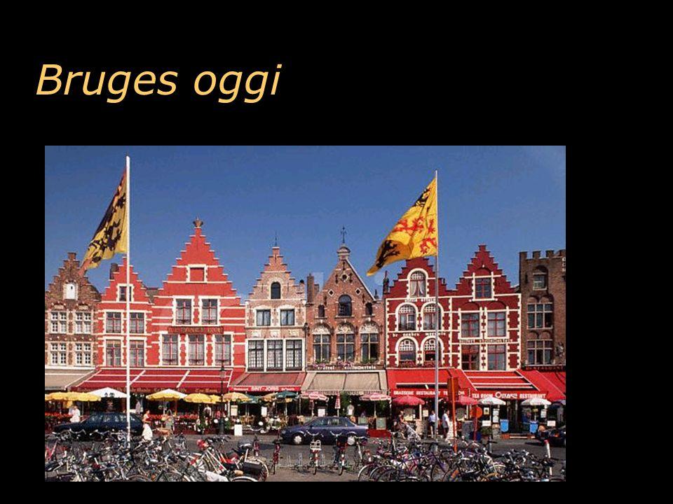 Bruges (Fiandre) Nel 1410 nasce la prima Borsa 3 Borse Van der Burse Le 3 Borse erano lo stemma della famiglia Van der Burse: noti banchieri delle Fia