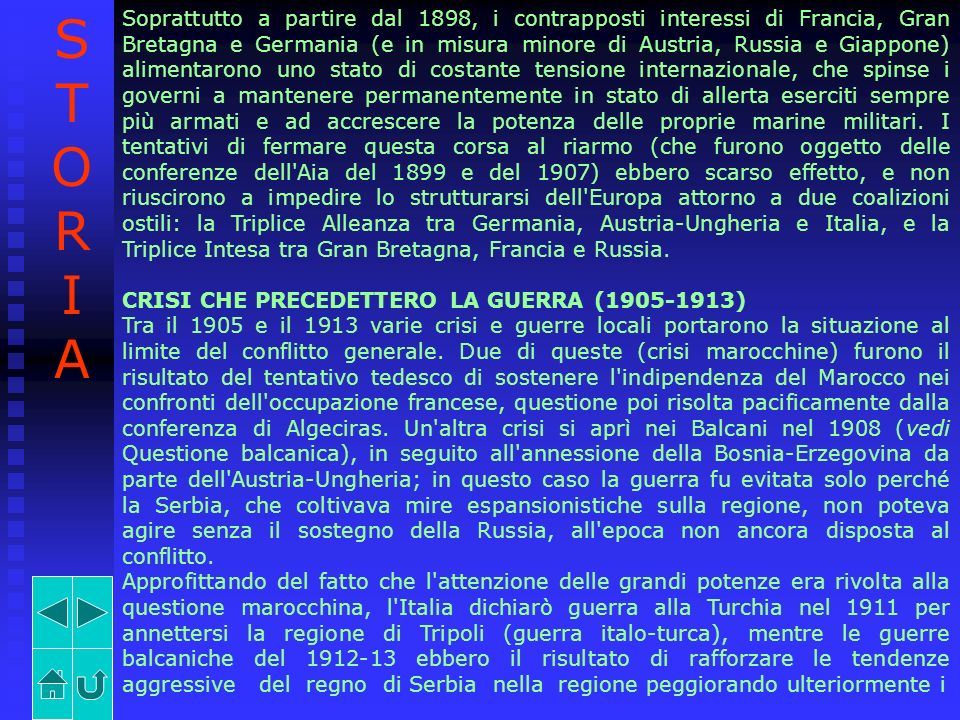 Soprattutto a partire dal 1898, i contrapposti interessi di Francia, Gran Bretagna e Germania (e in misura minore di Austria, Russia e Giappone) alime