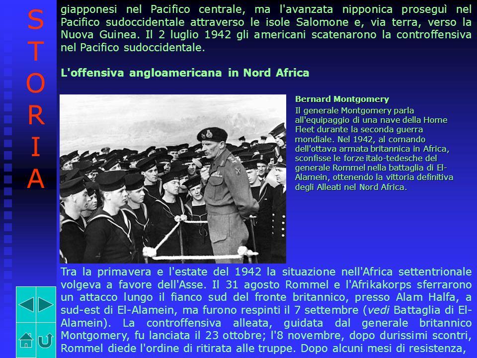 giapponesi nel Pacifico centrale, ma l'avanzata nipponica proseguì nel Pacifico sudoccidentale attraverso le isole Salomone e, via terra, verso la Nuo