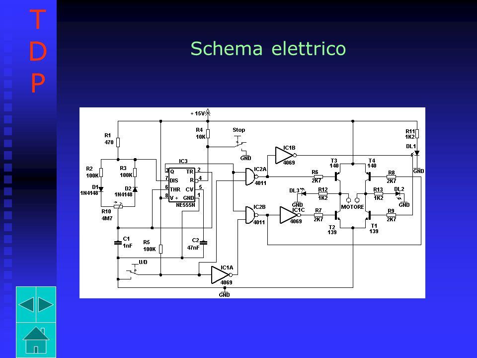 Schema elettrico TDPTDP