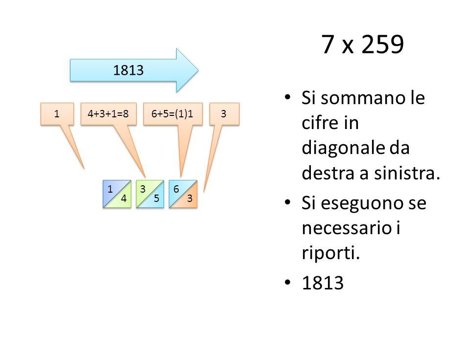 Ora prova tu Nella diapositiva successiva avrai a disposizione i bastoncini di Nepero da usare (puoi stamparli e ritagliarli) per eseguire una moltiplicazione.