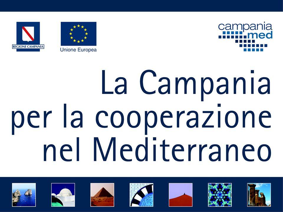 Ruolo della Regione Campania La Regione Campania, in qualità di soggetto promotore e beneficiario finale: 1.Indirizza, programma e coordina le singole azioni, cercando di realizzare iniziative di sistema e networking 2.
