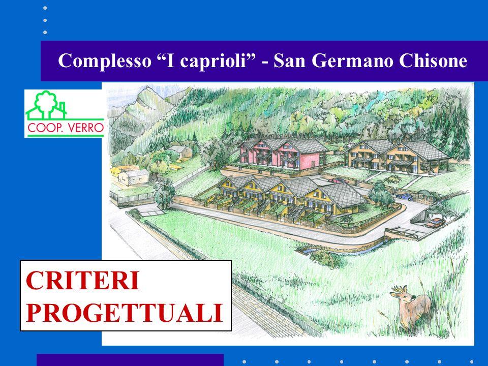 Complesso I caprioli - San Germano Chisone CRITERI PROGETTUALI