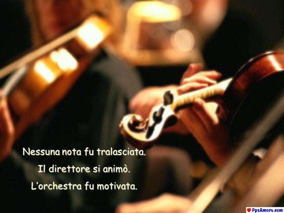 Una terza corda del violino di Paganini si ruppe. Il direttore si paralizzò. Lorchestra si fermò. Il pubblico trattenne il respiro. Ma Paganini contin