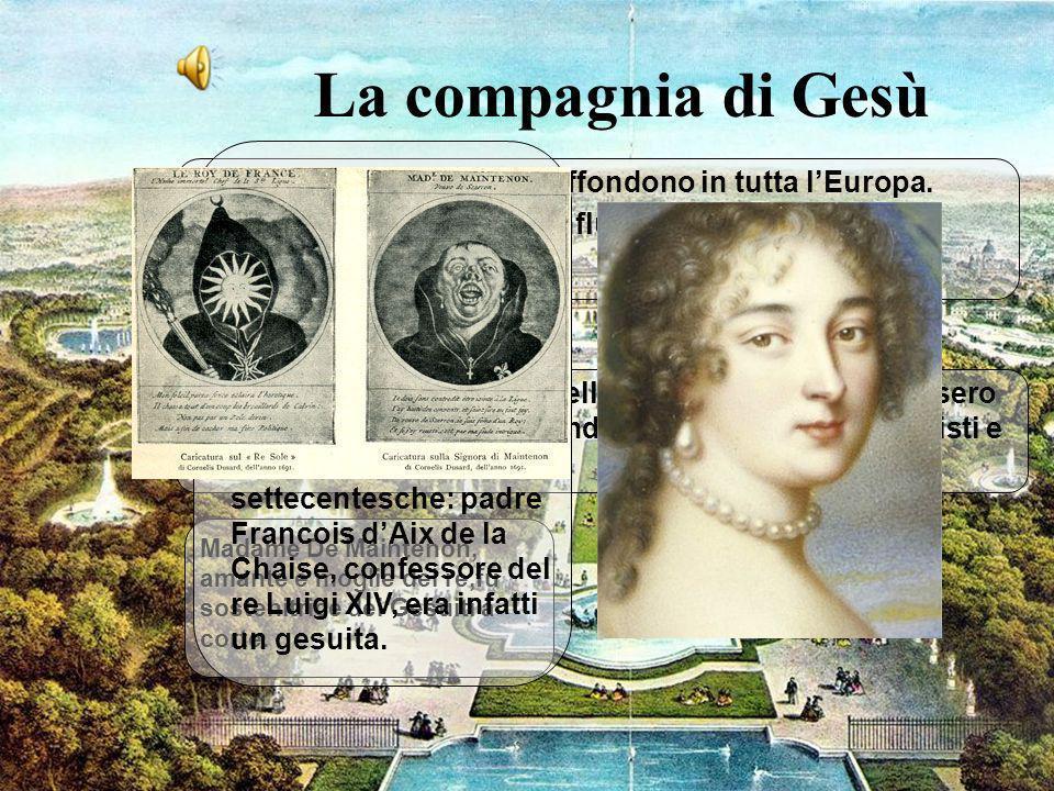 5 La compagnia di Gesù Chi: I Gesuiti (1540) si diffondono in tutta lEuropa.