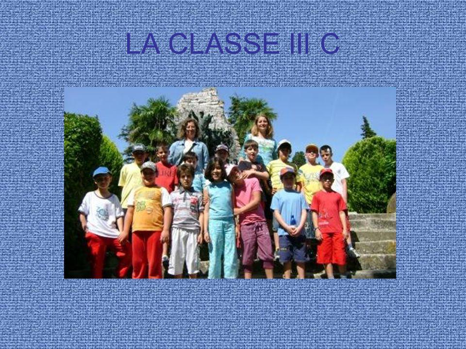 LA CLASSE III C