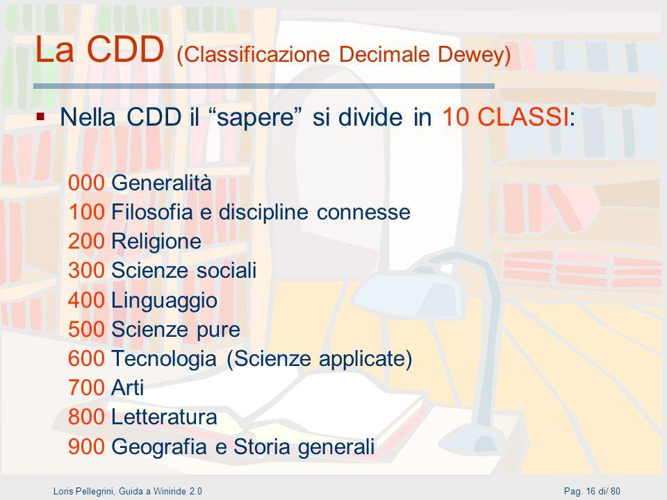 Loris Pellegrini, Guida a Winiride 2.0Pag.
