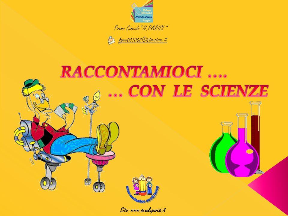 Primo Circolo N.PARISI fgee001002@istruzione.it Sito: www.scuolaparisi.it