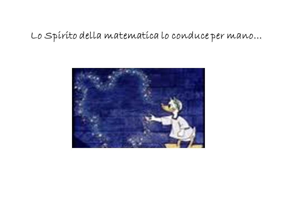 Lo Spirito della matematica lo conduce per mano…
