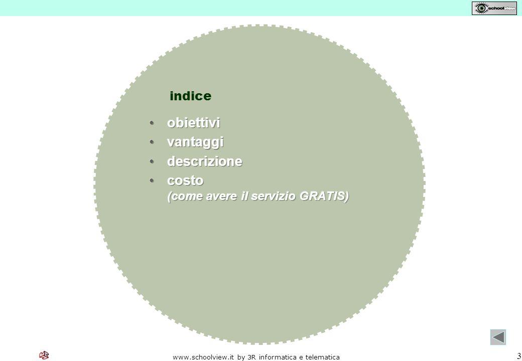 www.schoolview.it by 3R informatica e telematica 3 indice