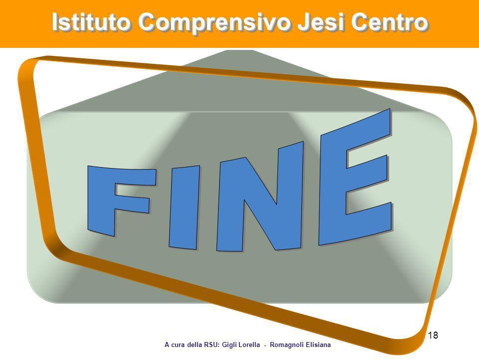 18 Istituto Comprensivo Jesi Centro A cura della RSU: Gigli Lorella - Romagnoli Elisiana