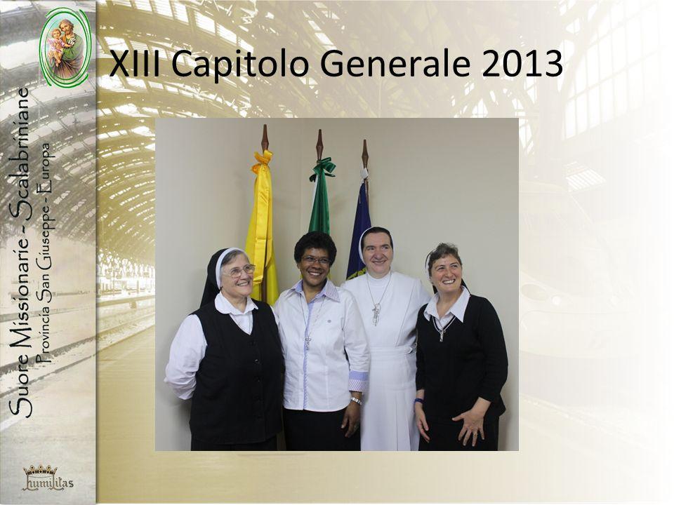 XIII Capitolo Generale 2013