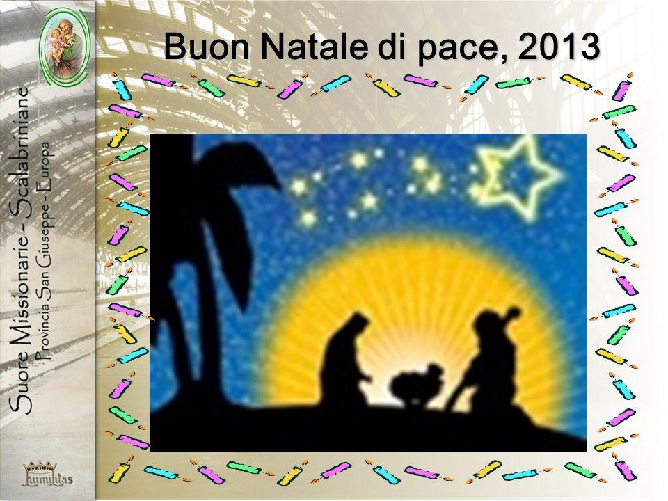 Buon Natale di pace, 2013