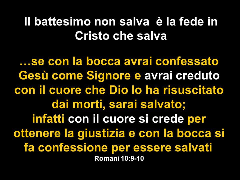 Il Battesimo secondo le Scritture 1.