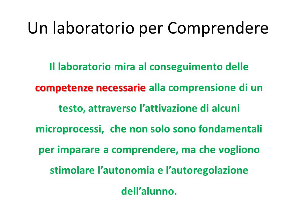 Software per la comprensione www.ivana.it
