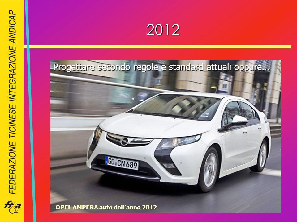 2012 OPEL AMPERA auto dellanno 2012 Progettare secondo regole e standard attuali oppure...