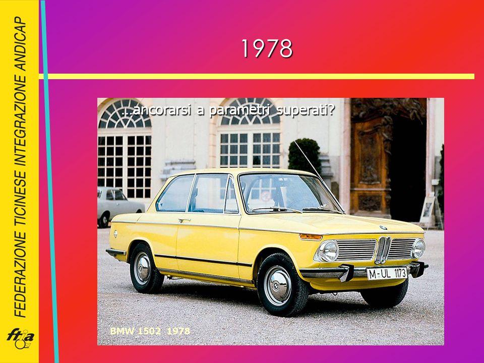 1978 …ancorarsi a parametri superati?