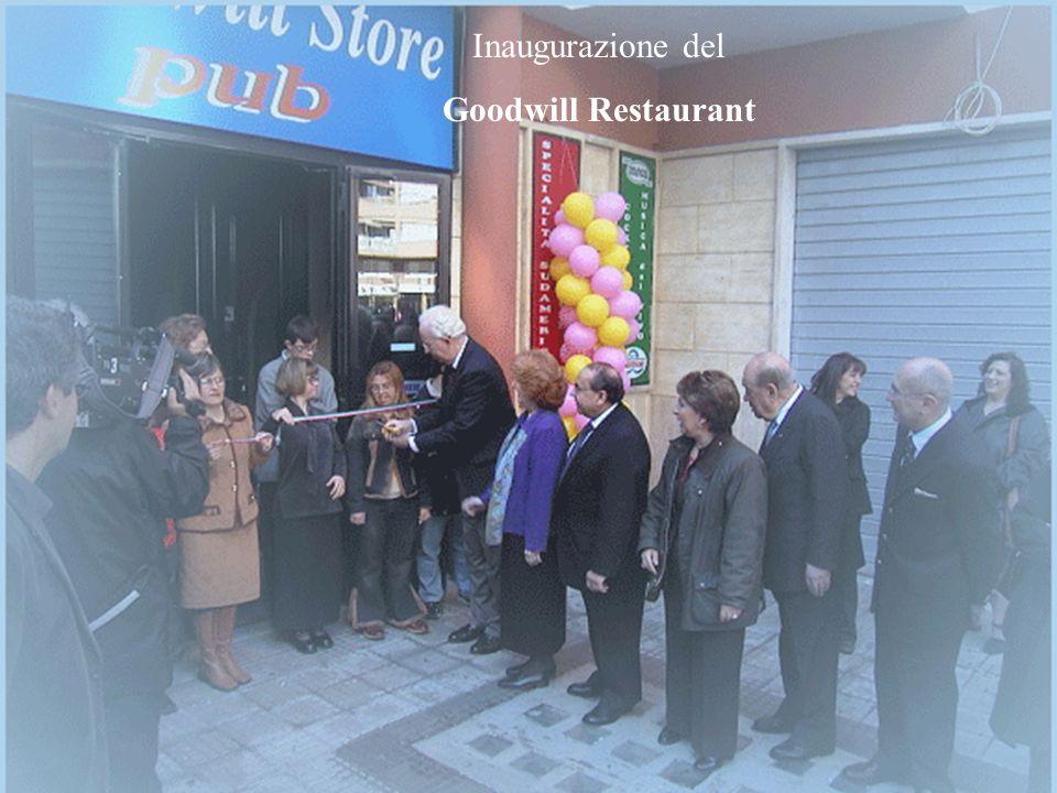Goodwill Italia onlus16 Inaugurazione del Goodwill Restaurant