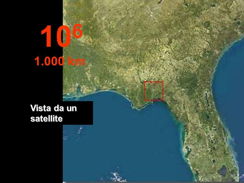 A questa altitudine, lo Stato della Florida - USA, può essere visto completame nte... 10 5 100 km