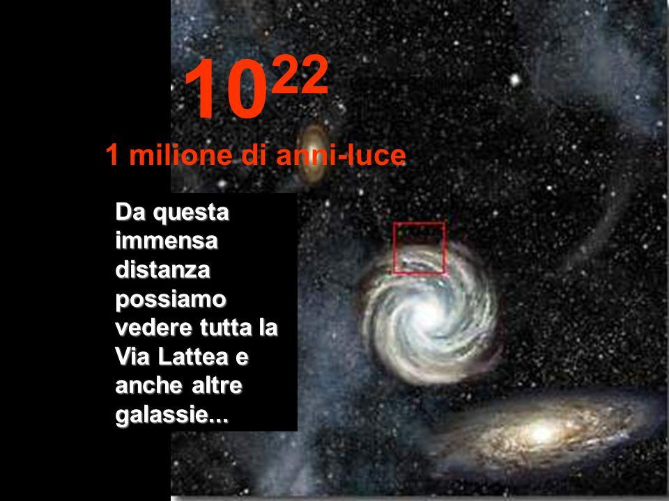 Adesso arriviamo alla periferia della nostra Via Lattea 10 21 100.000 anni-luce