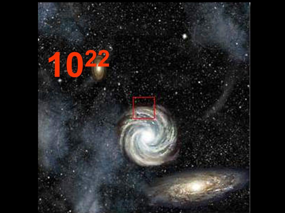 Da questa distanza enorme rispetto allorigine, le galassie sembrano piccoli agglomerati e, tra loro, ci sono immensi spazi vuoti. Del resto è la stess