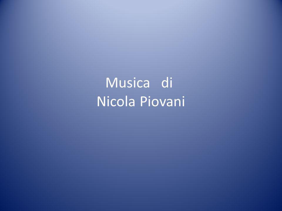 Musica di Nicola Piovani