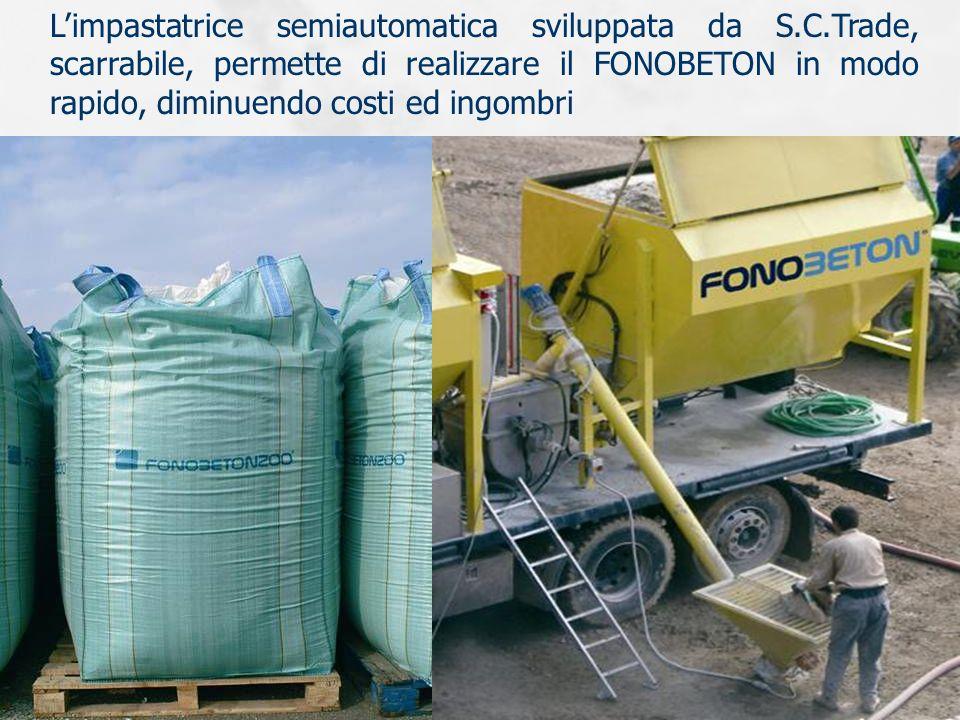 Limpastatrice semiautomatica sviluppata da S.C.Trade, scarrabile, permette di realizzare il FONOBETON in modo rapido, diminuendo costi ed ingombri