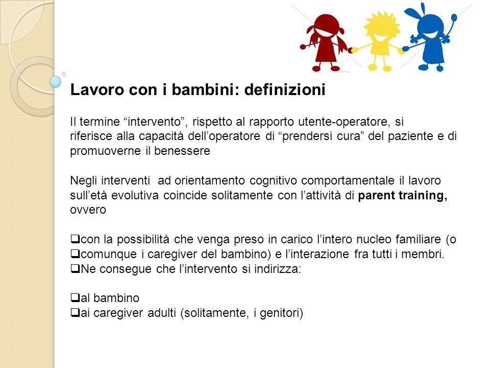 Lavorare insieme ai bambini Loperatore nella relazione daiuto Fonte Dr.ssa Flavia Caretto