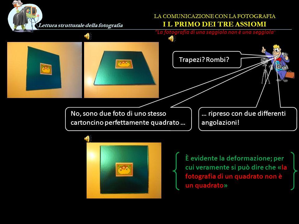 Lettura strutturale della fotografia Trapezi.Rombi.
