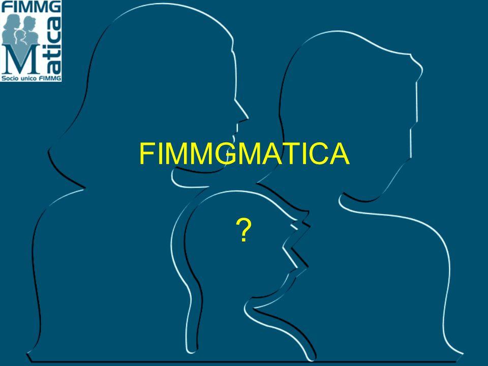 Link FimmgMatica sul proprio sito Ripetizione notizie FimmgMatica sul proprio sito ed invio alla propria mailing list Inoltro informativa agli iscritti con le circolari