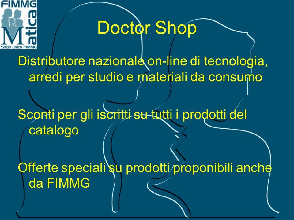 Doctor Shop Distributore nazionale on-line di tecnologia, arredi per studio e materiali da consumo Sconti per gli iscritti su tutti i prodotti del cat