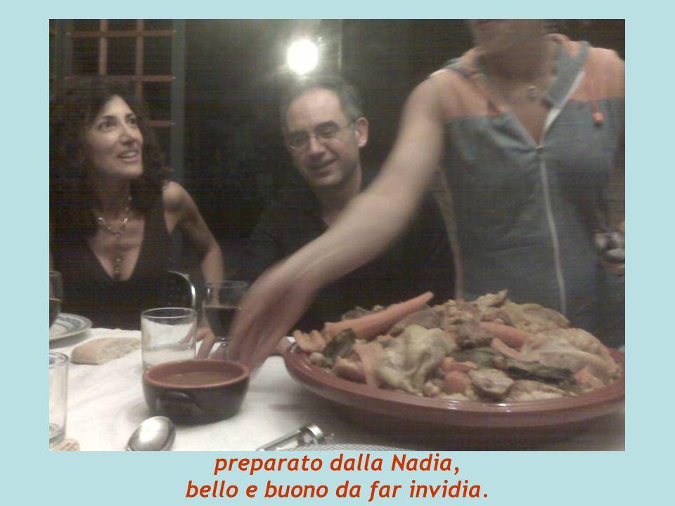preparato dalla Nadia, bello e buono da far invidia.