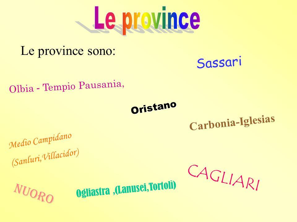 Cagliari è il capoluogo della Sardegna. È circondata da saline e da stagni pescosi. È una città di aspetto moderno.
