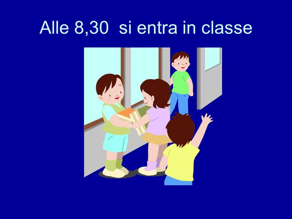 Alle 8,20 si arriva a scuola: accompagnati, da soli o con …. ….lo scuolabus