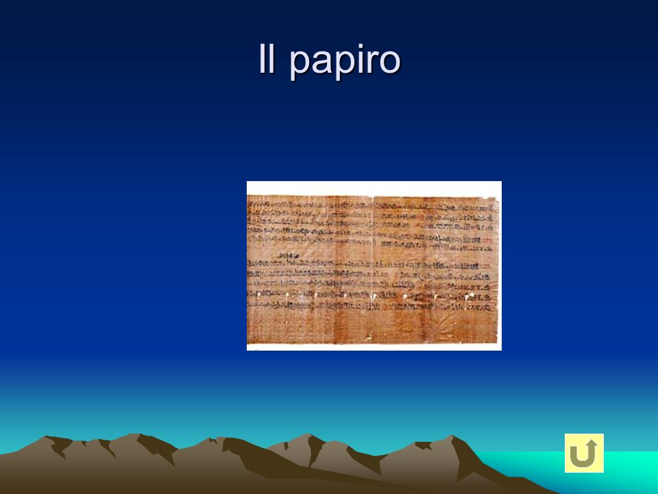 Il papiro