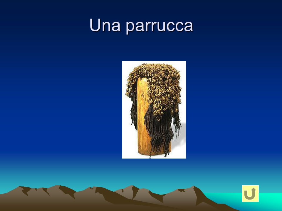 Una parrucca