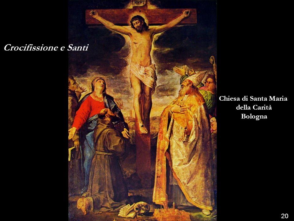 Cristo in gloria e Santi Palazzo Pitti Firenze 19