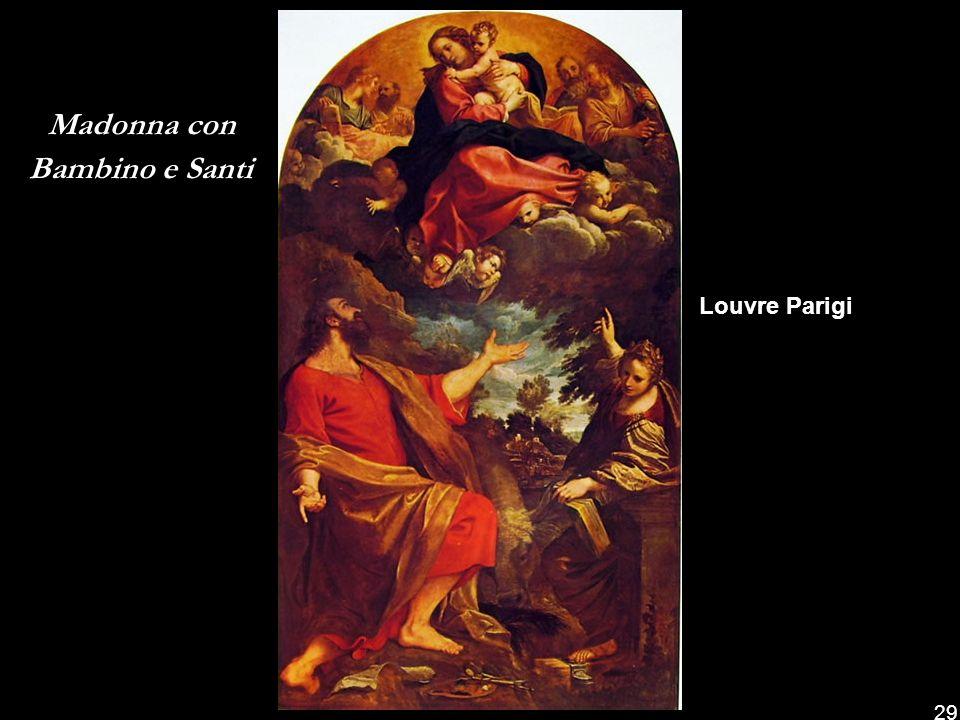 Madonna in gloria con il Bambino e sei Santi Pinacoteca Nazionale di Bologna 28