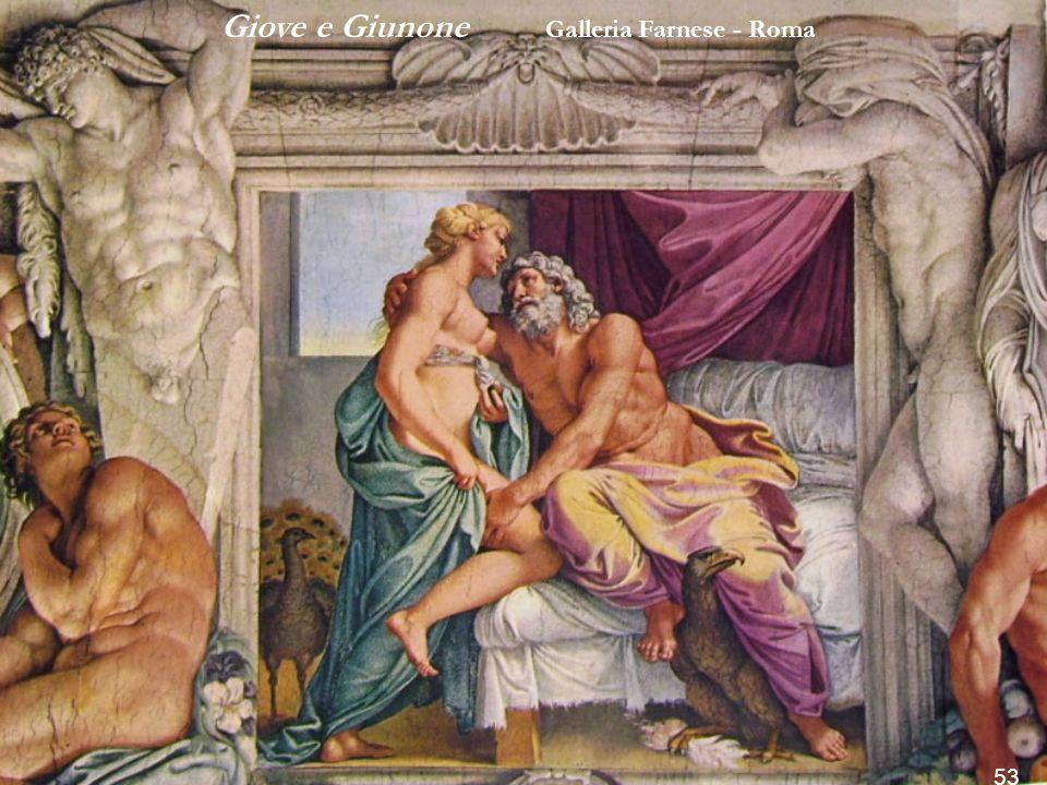 Bacco e Arianna Galleria Farnese Roma 52