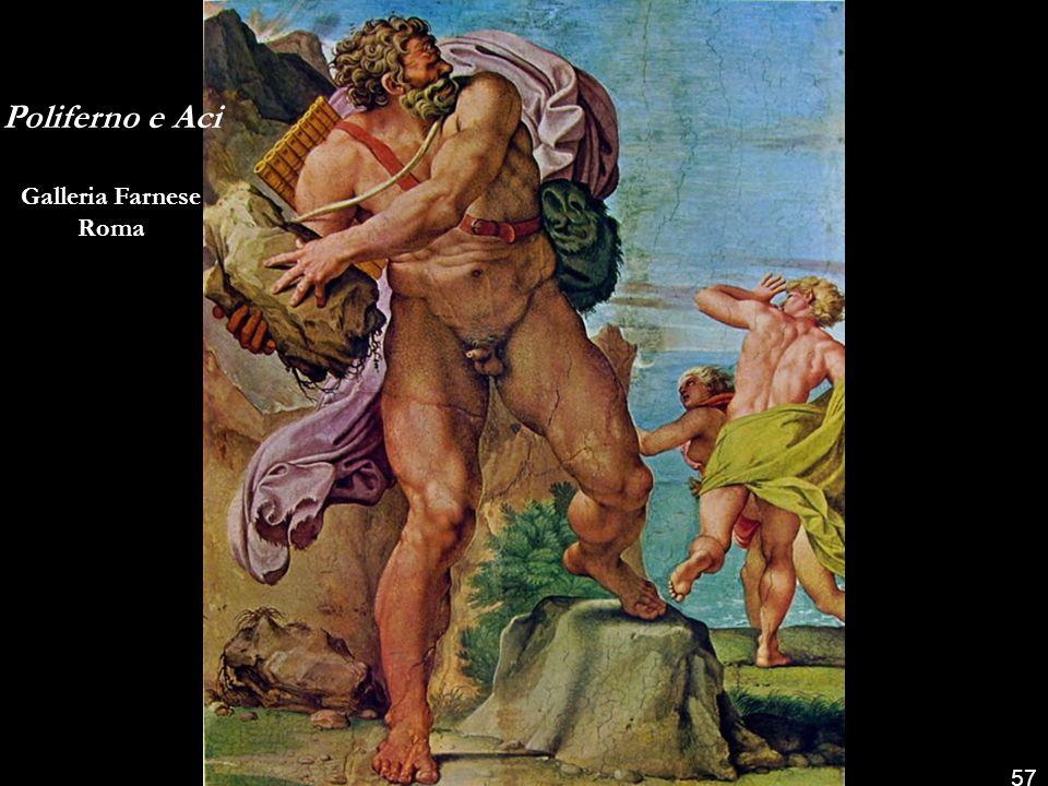Poliferno e Galatea Galleria Farnese Roma 56