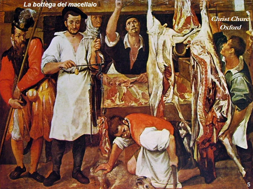 Christ Churc Oxford 5 La bottega del macellaio