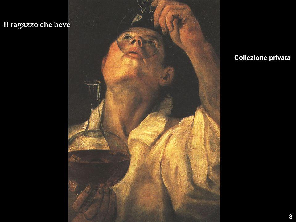 8 Il ragazzo che beve Collezione privata