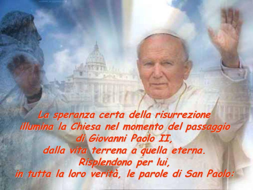 Giovanni Paolo II nella casa nella casa del del Padre Padre riflessioni tratte dall'omelia del cardinale Tettamanzi