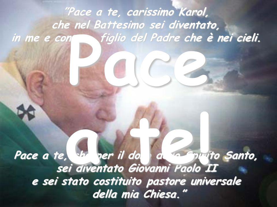 Sì, il Signore Gesù si è mostrato risorto e vivente, con i segni della sua passione, al nostro amatissimo Papa, che lungo la sua esistenza lo aveva se