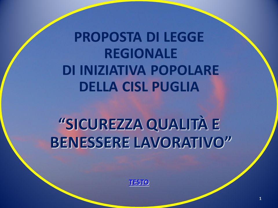 21 PROPOSTA DI LEGGE REGIONALE Avv.