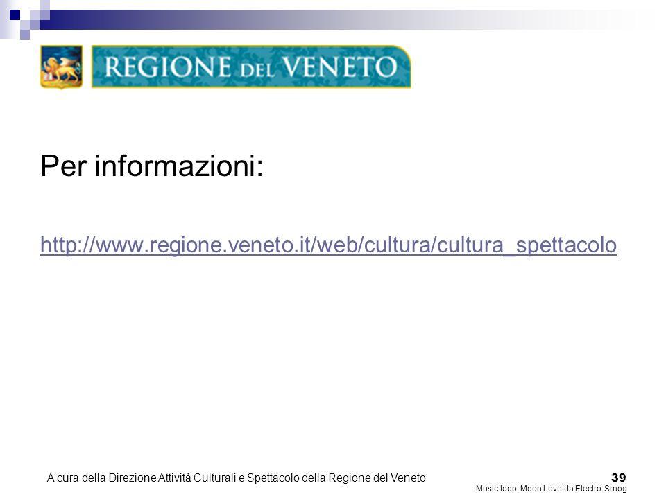 A cura della Direzione Attività Culturali e Spettacolo della Regione del Veneto 38 FAQ 10/10 Come devo denominare gli allegati di una PEC.