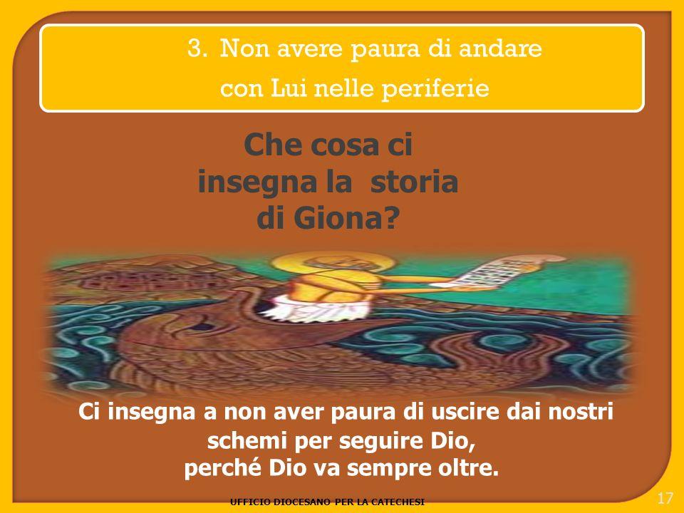 UFFICIO DIOCESANO PER LA CATECHESI 17 3.